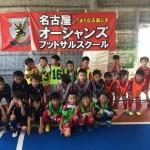 8/6(日)Jrフットサルカップ 大会結果!